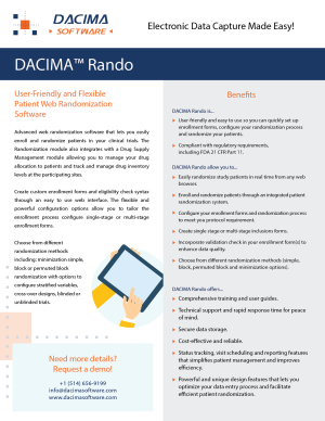 Download Randomization Brochure