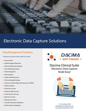 Dacima Data Management Brochure