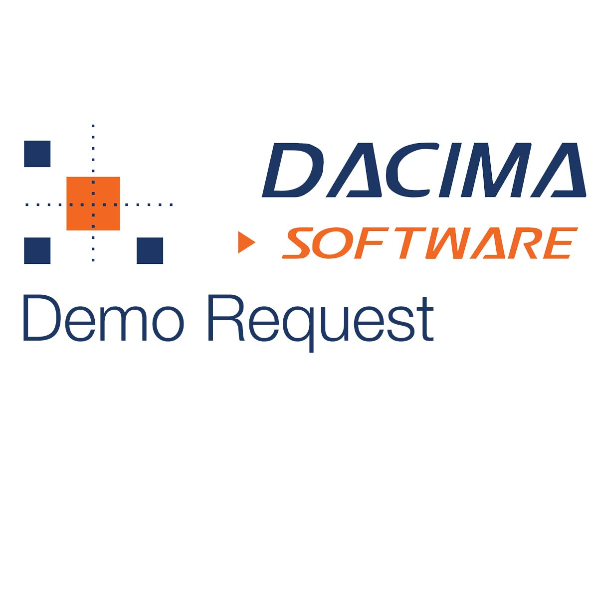 Dacima Demo Request white